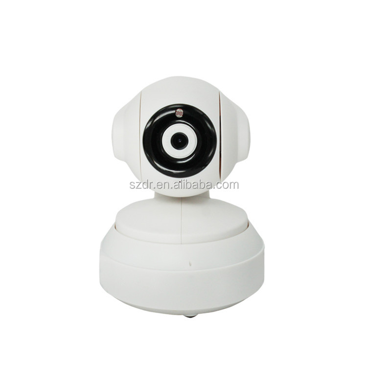 1 Megapixel Motion Detection Pan and Tilt 720P IR-CUT Home Security P2P hidden wifi ip camera