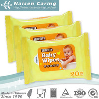 Taiwan High Quality Top Sales Wet Wipes For Baby
