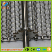 China real manufacturer stainless steel metallic wire mesh conveyor belt for fruit