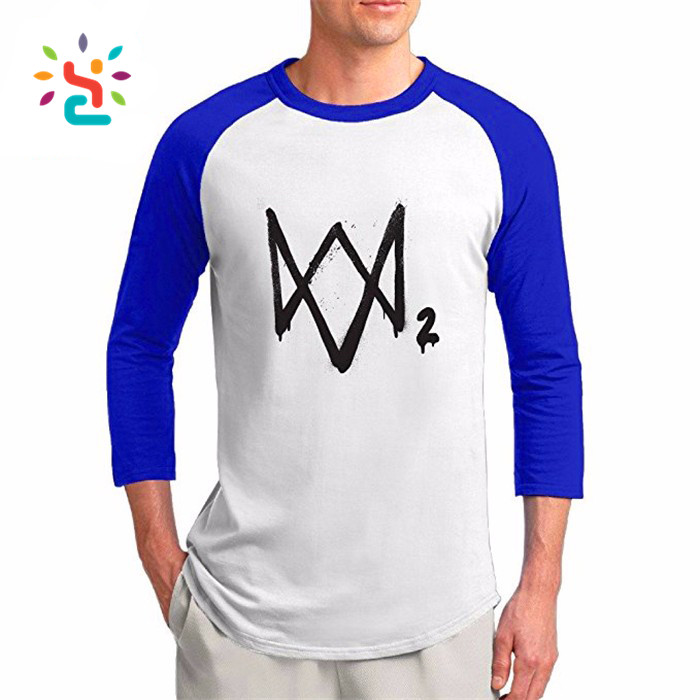 Watch dogs 2 headgear Dedsec Aiden Pearce cosplay T-shirt printing logo blank T-shirt Marcus holloway
