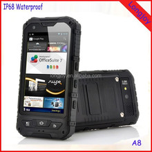 OEM Welcome Rugged Phone Land Rover A8 Android 4.2 IP68 Waterproof Dual Core Dual Sim