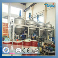 Waste or used motor oil to diesel fuel oil distillation plant factory