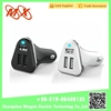 2015 MX New fashion accessories customized OEM High Speed bullet 3 port usb car charger