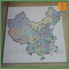 Quality Map UV Flat Bed Digital Printing At Ex-factory Price