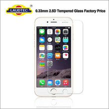 100% Clear Screen Protector Tempered Glass Film for iPhone 6/6s