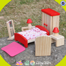 2017 New design wooden mini furniture toy newly wooden mini furniture toy children wooden mini furniture toy W06B053