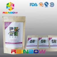 tear resistant stand up paper bags for Organic Products/Pharmaceutical Products packing