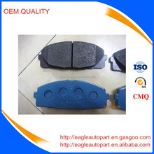 Toyota hiace front brake pads high copy 04465-26420 04465-26421
