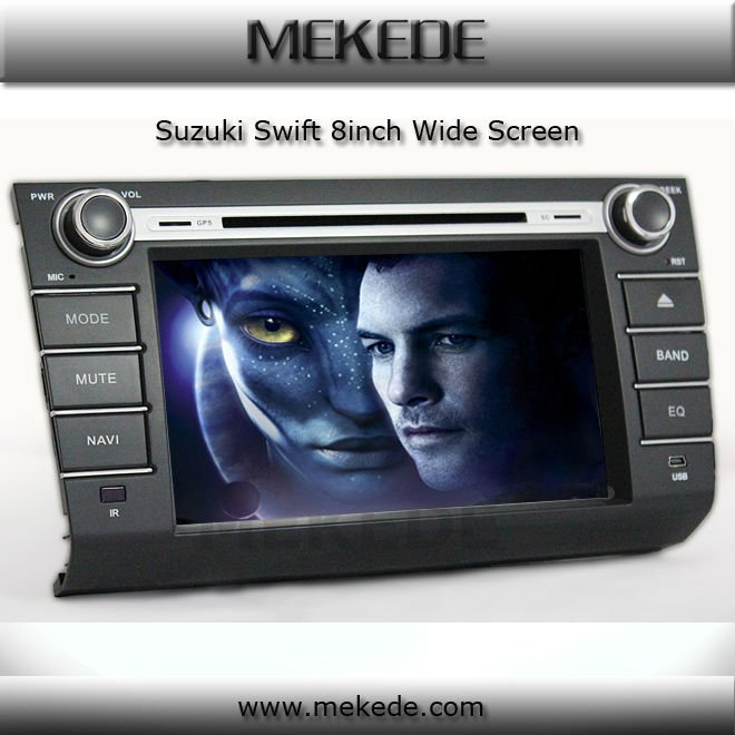 Hot SeLLing car GPS for suzuki swift DVD, GPS,BT,ATV,IPOD,PIP all functions