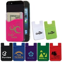 reusable magnetic cell phone credit phone case pocket business card holder