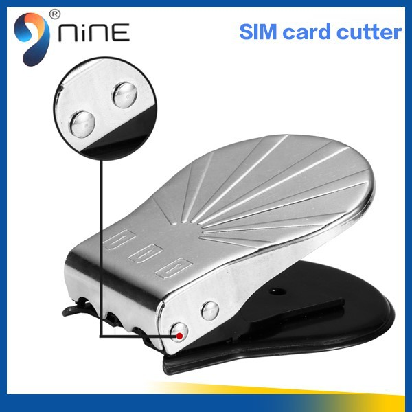 High quality universal 3 in 1 sim card cutting cutter with retail package for iPhone 4 ,5 , 6