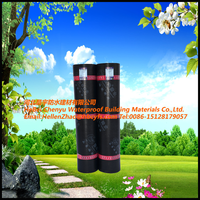 Wall building materials waterproofing bitumen membrane hot melt roofing sheets