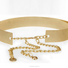 Gold Metal Women Waist Belt