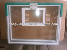 2013 Popular And Hotsales Clear 10mm Acrylic basketball backboard