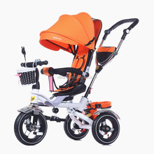 new model cheap plastic triciclo kids baby tricycle with back seat