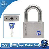 MOK@11/50WF 40mm 50mm 60mm rustproof master key SUS304 stainless steel Stainless Steel Pad Lock Chain Lock