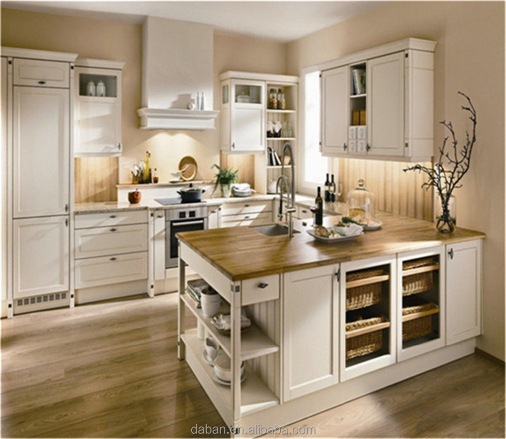 Cheap melamine white kitchen cabinet manufacturer in china for Cheap white cabinets sale