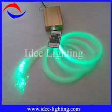 color changing 16W LED fiber optic illuminator with wireless remote control