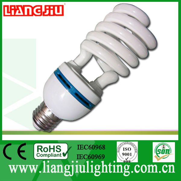 Hot Sale half spiral energy saving electric bulb 26W compact fluorescent lamp/ce/rohs