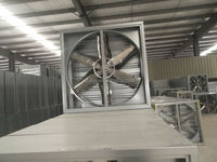 air ventilation exhaust fan system for poultry greenhouse