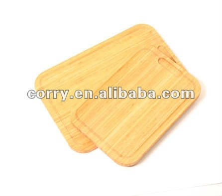 Arc edge WOODEN/BAMBOO CUTTING BOARD chopping block