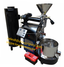 2015 Shop 3kg drum coffee roaster for sale DY-3 gas propane coffee roasting machine with cyclone skype:lovefreesmoke