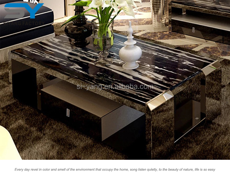Furniture hobby lobby black glass antique coffee table CJ008