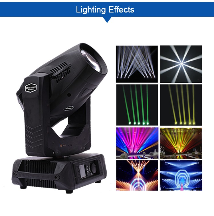 stage light 10r 280w spot wash goods in stock beam moving head light sky beam light