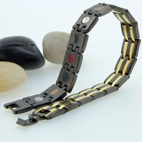 Stainless Steel Super Strong Neodymium Anti-static Magnetic Bracelet