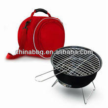 BBQ bucket , Mini Charcoal BBQ Bucket, With Cooler Bag Grill