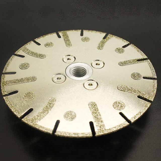Diamond tools Electroplated diamond cutting disc
