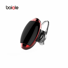 The smallest Sport Invisible Wireless Plating Material Earphones headset with Mic For iPhone