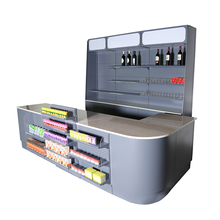 High Quality Supermarket Cashier Checkout Counter Cash Register Table