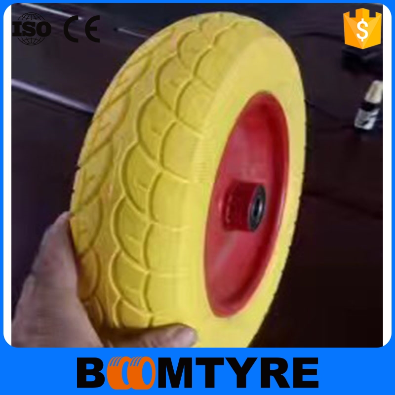 New design with great price industrial solid pu wheel