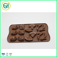 Cute Shoes Bag Shape Silicone Baking Cup Molds Chocolate Pudding Cupcake Mould