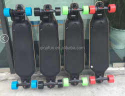 much lighter much thinner but ultra-long battery life remote control skateboard Professional Leading Manufacturer