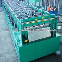 Colored steel plate rolling machine