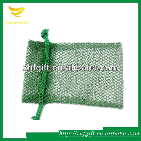 Small nylon net bag for soap