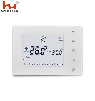 Touch Screen Digital Heating Wireless Thermostat for Boiler Water Heating