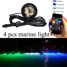 high quality Iron & zinc alloy steel housing yacht boat underwater led light 27W