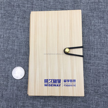 T0053 Low MOQ recyclable wooden color PET cover Spiral notebook with sticky note and paper pen