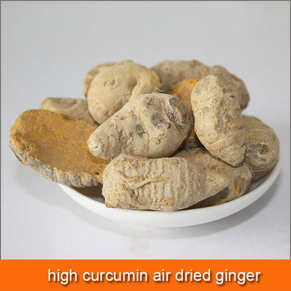high curcumin air dried ginger price