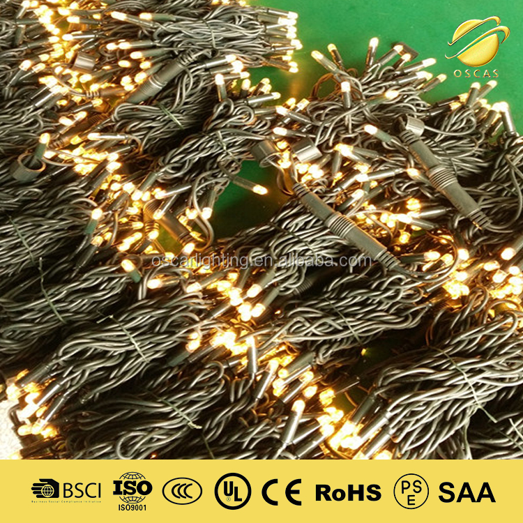 220V led christmas string lighting outdoor IP65 holiday time