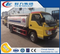 Hot sell Foton Right hand drive oil tank truck Fuel tank truck refueling truck