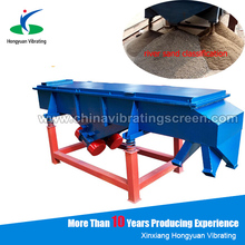 topsoil aggregate sand sieving machine with vibration