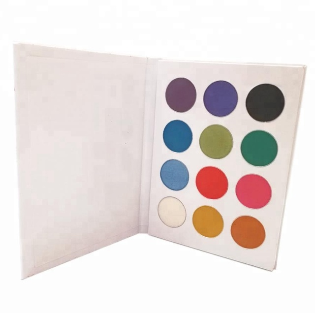 Wholesale Factory price excellent quality 12color makeup cosmetic eyeshadow palette