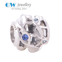 Wholesales Large Hole 925 Sterling Silver Charms Jewelry YZ018