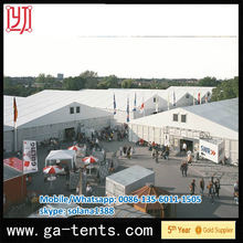 25x80m Luxury aufblasbare pvc zelt Made By Shelter Tent In Guangzhou