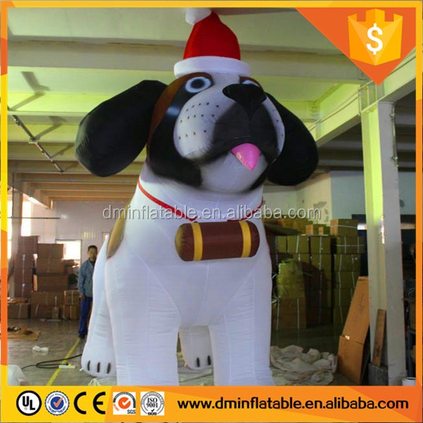 Inflatable Dog Manufacturers for Christmas Inflatable