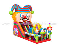 New Design Giant Adult Inflatable Water Slide,Inflatable Giant Clown Slide